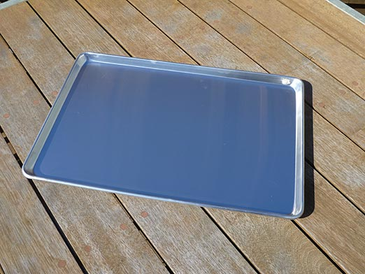 The Wedge™ Aluminium Under Tray