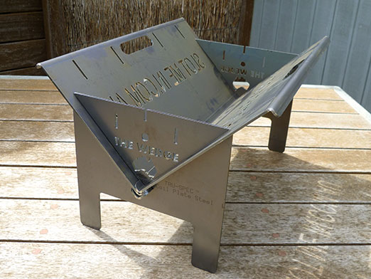The Wedge™ Base Fire Pit