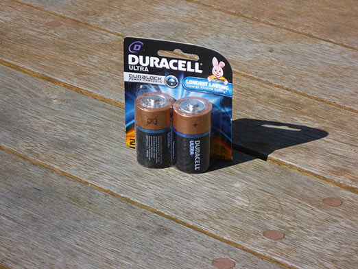 Twin Pack of Long Life D Size Batteries for Spit Motor