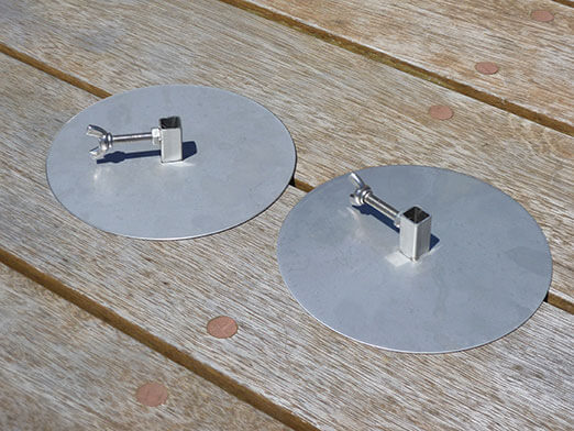 Stainless Steel Gyro Discs for Rotisserie